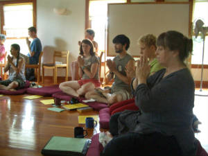 Shin Retreat 2006 with rituals