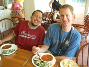 Shin Retreat 2006 lunch