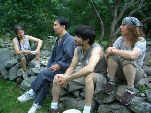 Shin Retreat 2006 with Dr. Mark Unno