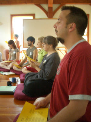 Shin Retreat 2006 with meditation