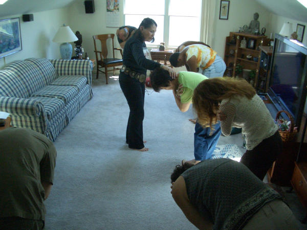 Anne Marr's Room to Breathe workshop in USA